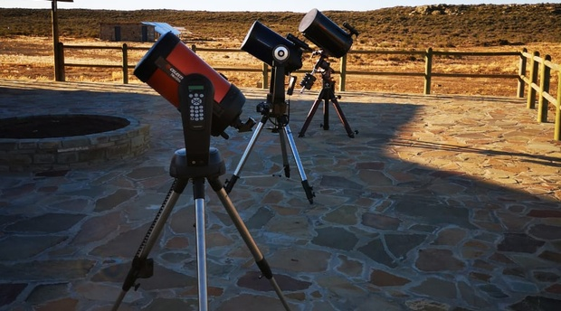 Stargazing; telescopes; Karoo; Night sky; Sutherland; Rogge Cloof